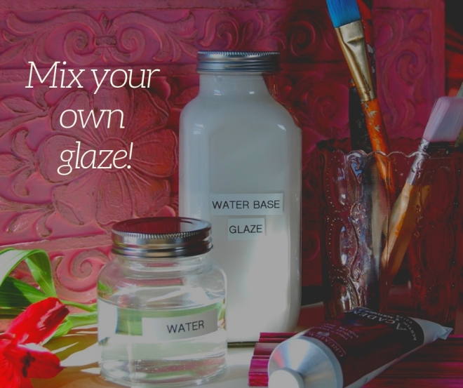 DIY How to mix your own glaze