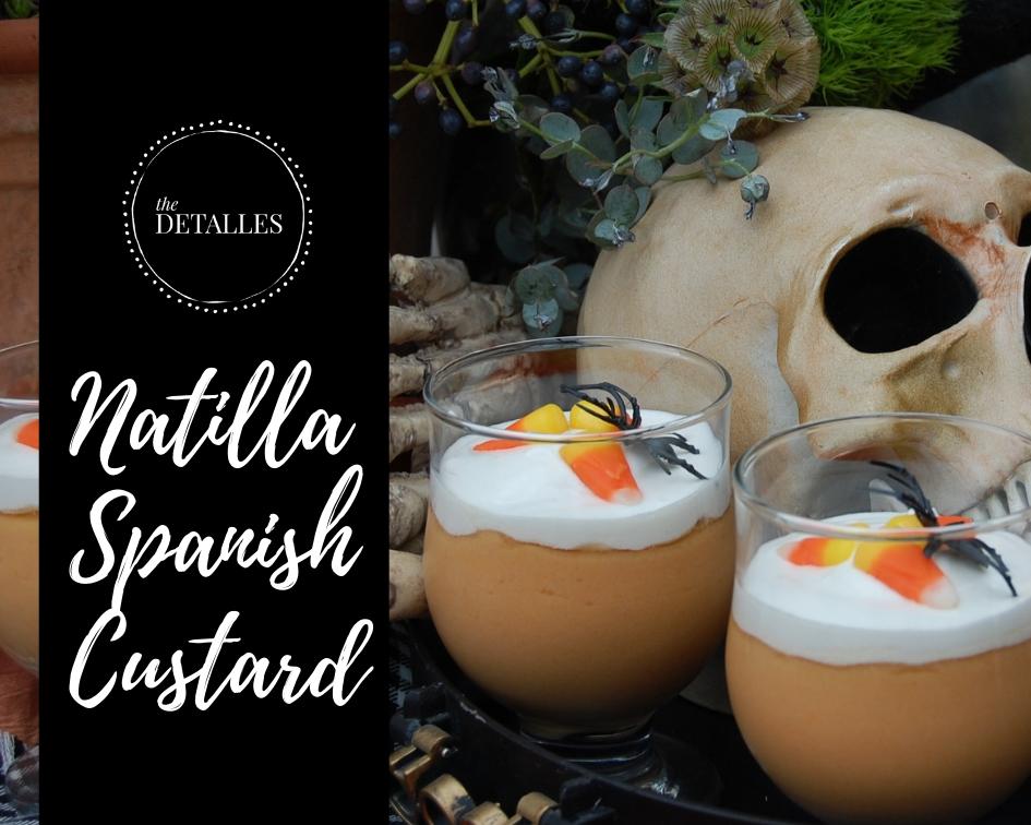 Natilla Spanis Custard